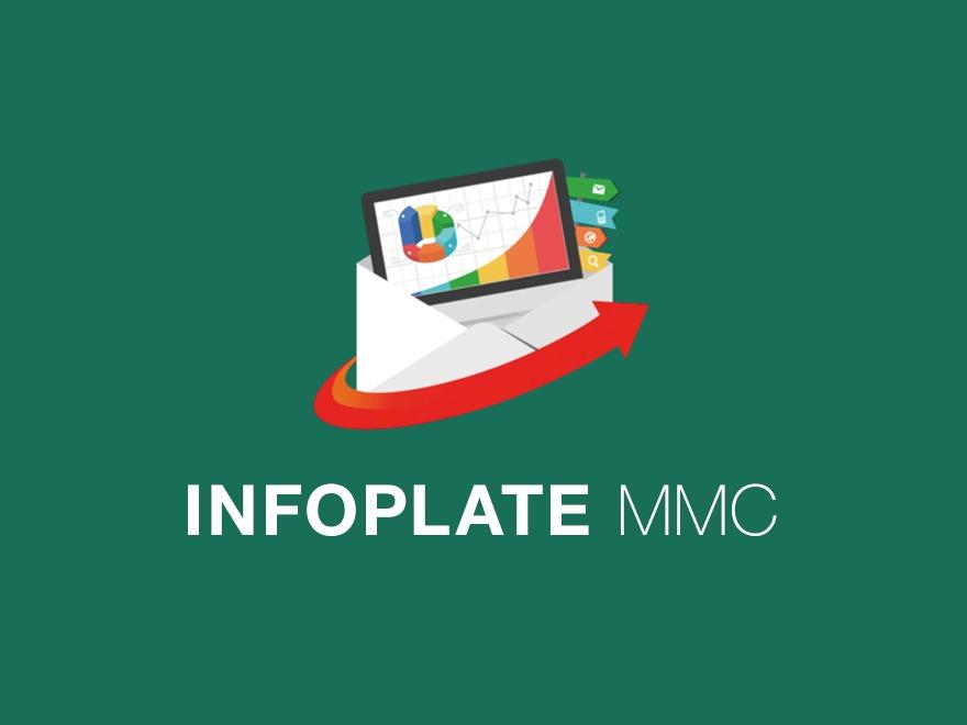 INFOPLATE MMC WordPress theme design