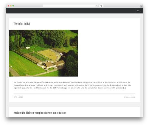 Looki Lite best WordPress theme - tierheime-aktuell.com