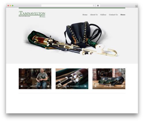 My PrimaShop (WC) WordPress page template - tamnaveltonpipes.com