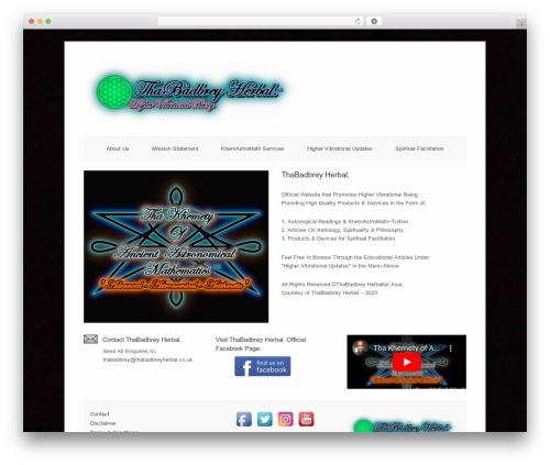 Free WordPress Protected Posts Logout Button plugin - thabadbreyherbal.co.uk