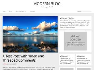RichWP Modern Blog WordPress template for business