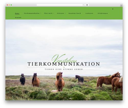 Rosav WordPress theme - tierkommunikation-verstehen.de