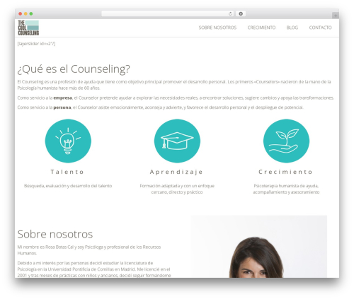 Free WordPress MailChimp for WordPress plugin - thecoolcounseling.com