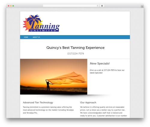 Squirrel best WordPress theme - tanningquincy.com