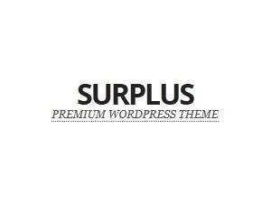 Surplus WordPress page template