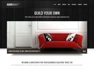 Tof Volk WordPress portfolio template