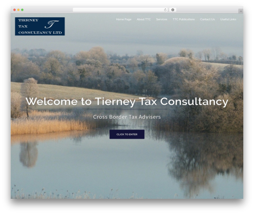 WordPress theme Sydney - tierneytax.ie