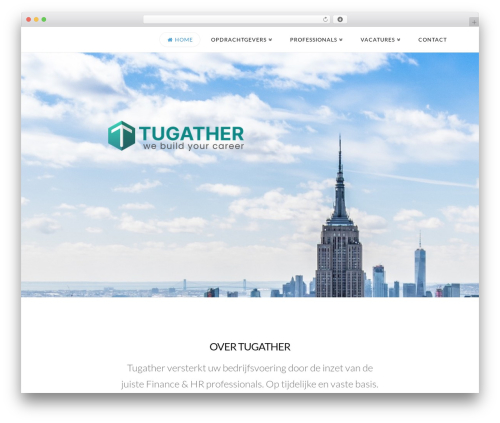 X WordPress template for business - tugather.nl