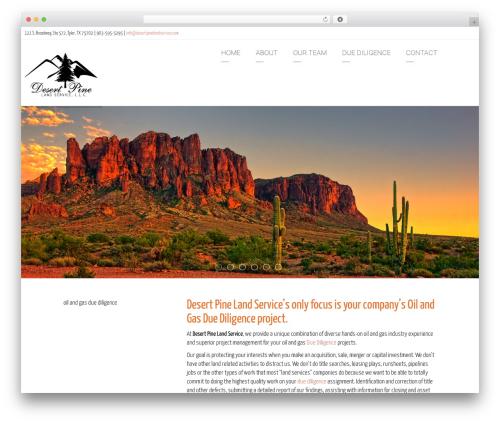Arkitekt theme WordPress - desertpinelandservice.com