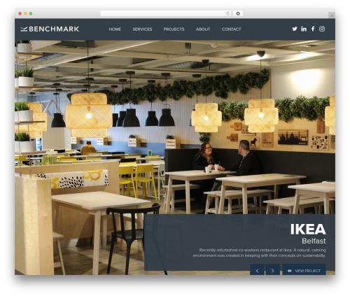 Benchmark best WooCommerce theme - benchmarkfitout.com