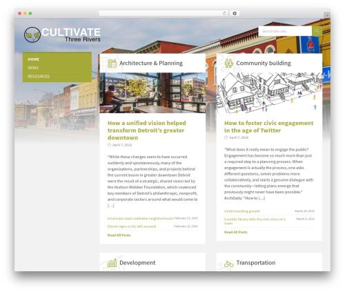 TownPress theme WordPress - cultivatethreerivers.com
