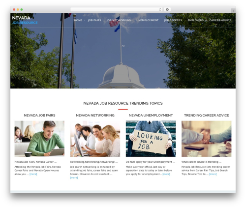 WP theme Avion - nevadajobresource.com