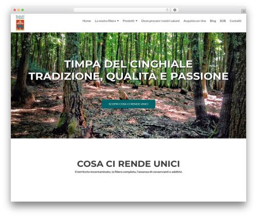 Best WordPress theme Zerif Lite - timpadelcinghiale.com