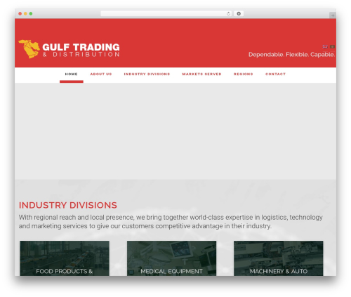 Best WordPress theme Enterprise Pro Theme - gulftradingdistributioncorp.com