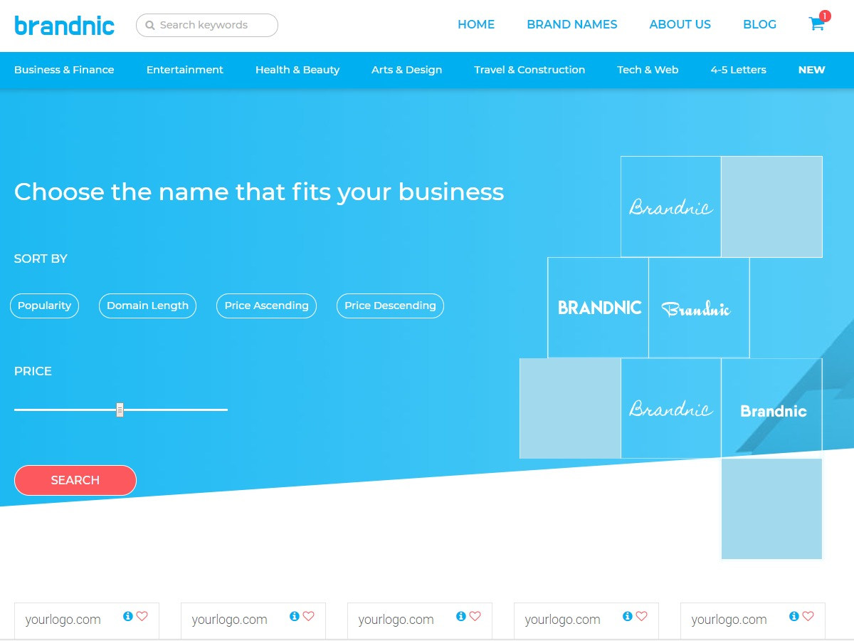 Brandnic company WordPress theme