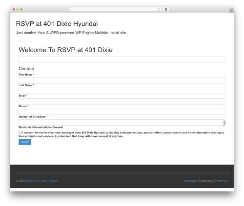 Responsive Mobile WordPress template free download - rsvpdixiehyundai.com