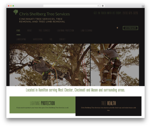 Theme WordPress Arborist 2 - V8 - chrisshellbergtreeservices.com