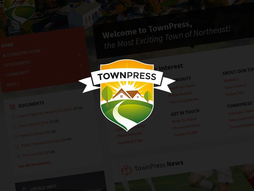 TownPress WP template