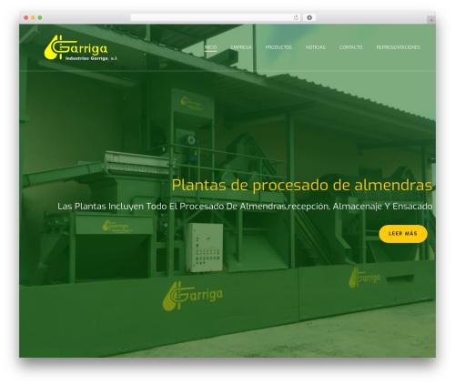 WordPress template jupiter - industriasgarriga.com