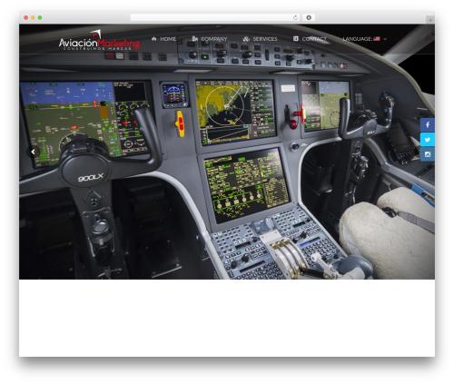WordPress theme TheFox (shared on themelot.net) - aviacionmarketing.com