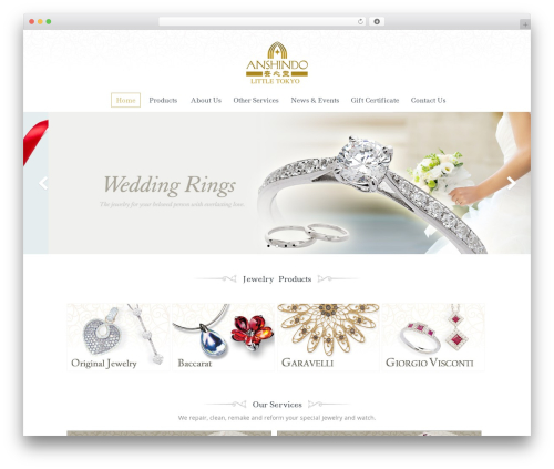 WP template Jewellery - anshindola.com