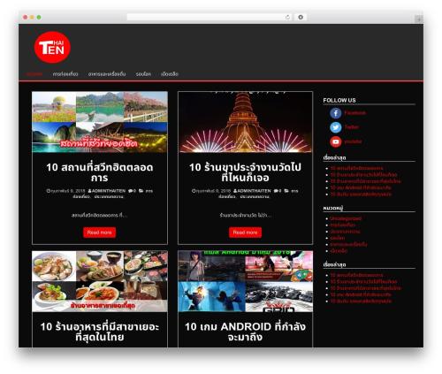 Alpha Store best free WordPress theme - thaiten.com