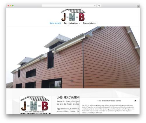 Divi WordPress theme - jmb-renovation.com