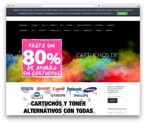 Divi WordPress theme - toneralgeciras.com