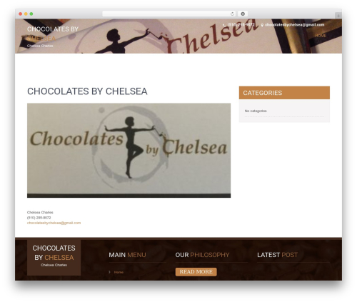 SKT Coffee free WP theme - chocolatesbychelsea.com