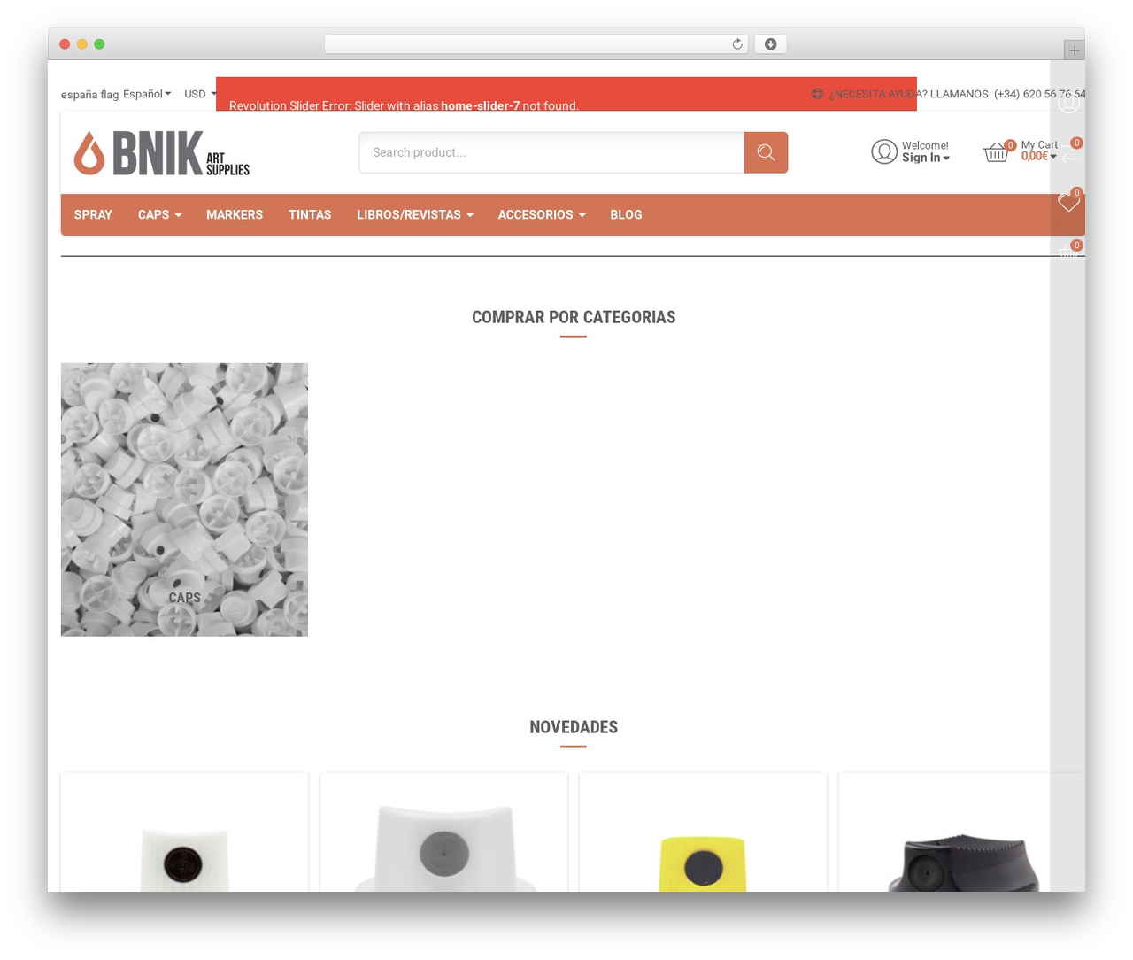 TheShopier WordPress shopping theme - bnik-art.com