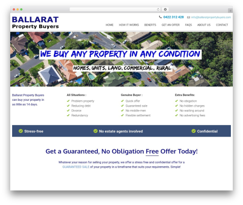 AccessPress Parallax theme free download - ballaratpropertybuyers.com