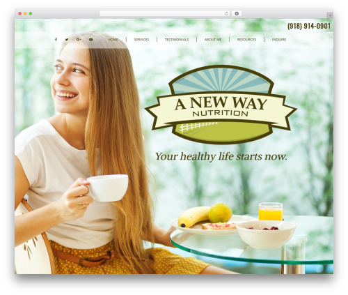 GeneratePress free WordPress theme - anewwaynutrition.com