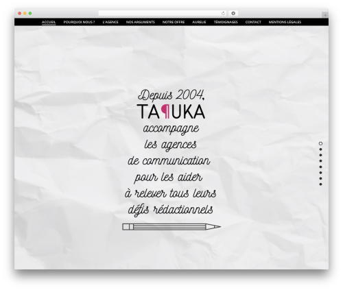 jupiter WordPress theme - tapuka.com
