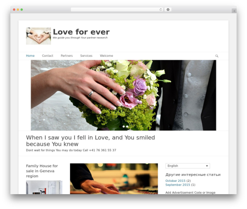 Theme WordPress Catch Base Pro - lov4ever.com