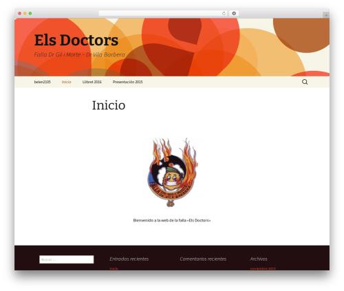 Twenty Thirteen free WordPress theme - elsdoctors.com
