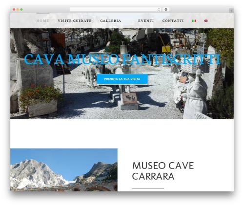 Avada WordPress theme - cavamuseo.com