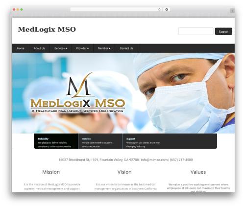 Theme WordPress Health-Center-Pro - logixmso.com