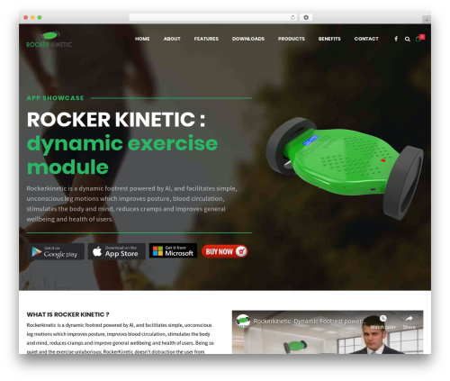 WP theme Shopscape - rockerkinetic.com