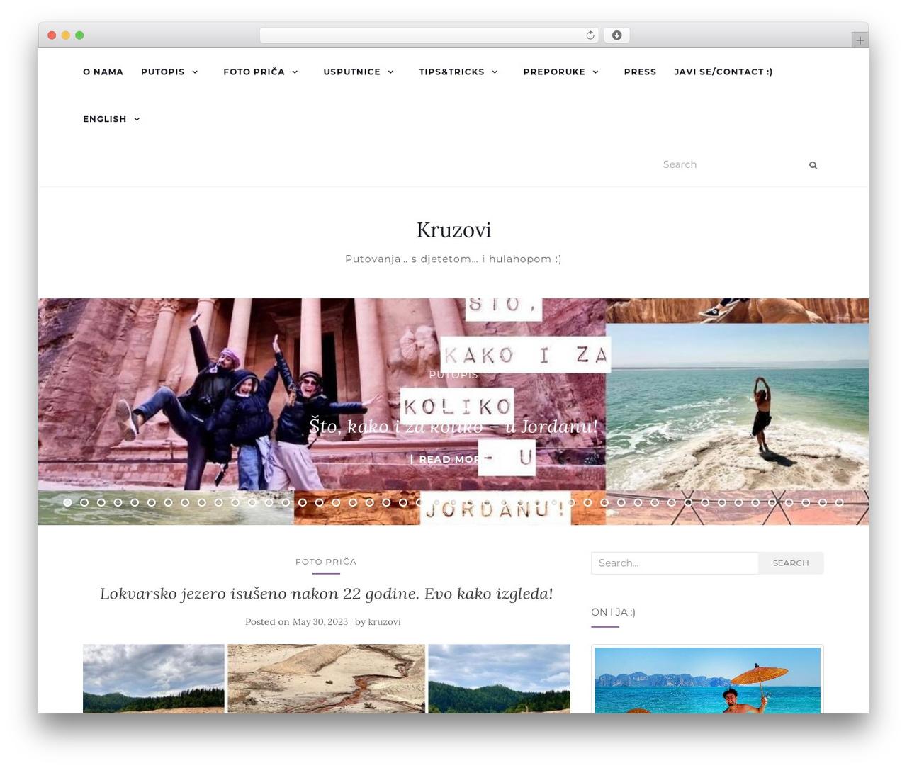 Activello WordPress theme - kruzovi.com