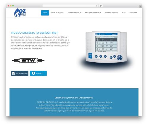 jupiter WordPress theme - oz-peru.com