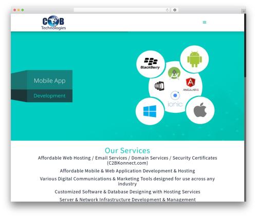 Template WordPress Betheme - c2btechnologies.com