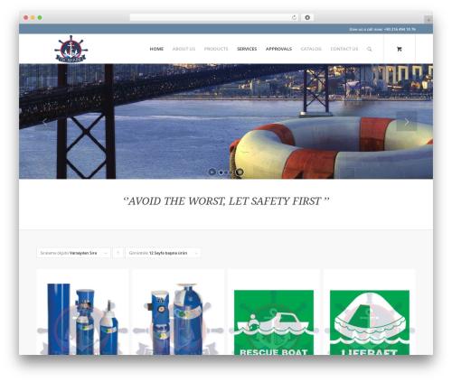 Template WordPress Enfold - tec-marine.com