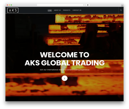 Theme WordPress Movedo - aksglobaltrading.com