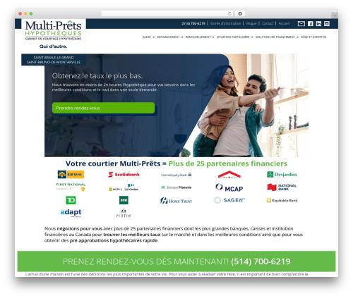 Agence Oz Demo top WordPress theme - madamehypotheque.com