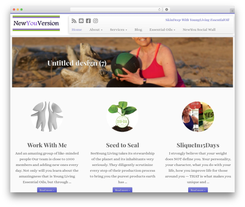Customizr WordPress template free download - new-you-version.com