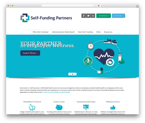 Quare top WordPress theme - self-fundingpartners.com
