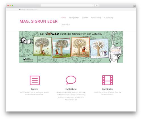 Template WordPress Divi - sigruneder.com