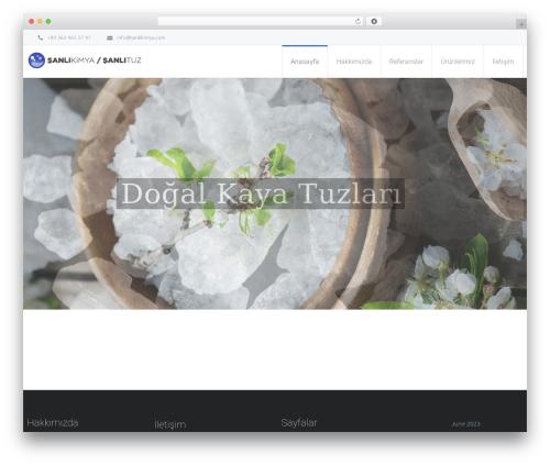 Theme WordPress Salamat - sanlikimya.com