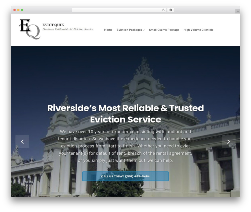 WordPress theme Businessx - riversideeviction.com