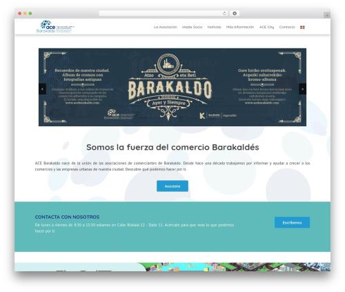 THBusiness Pro WordPress template for business - acebarakaldo.com